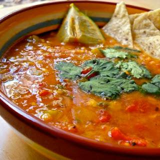 Mexican Lentil Stew