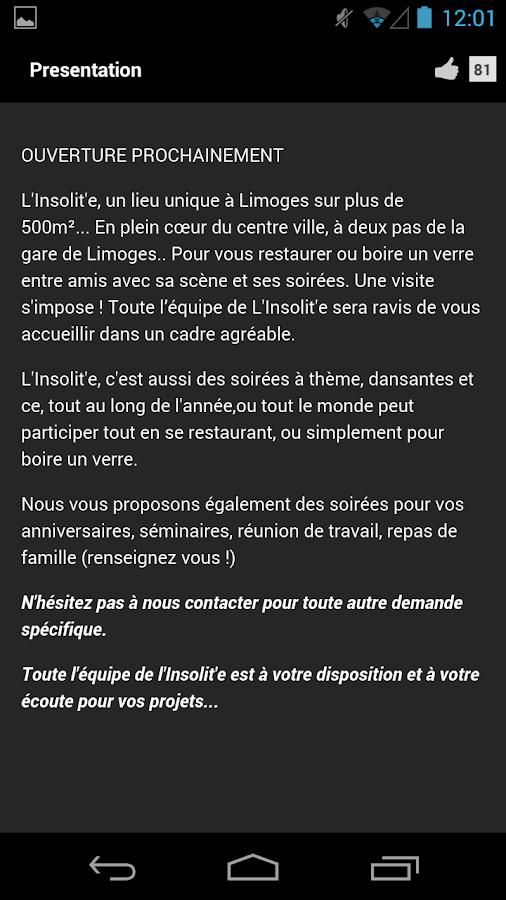 L'Insolite Limoges- screenshot