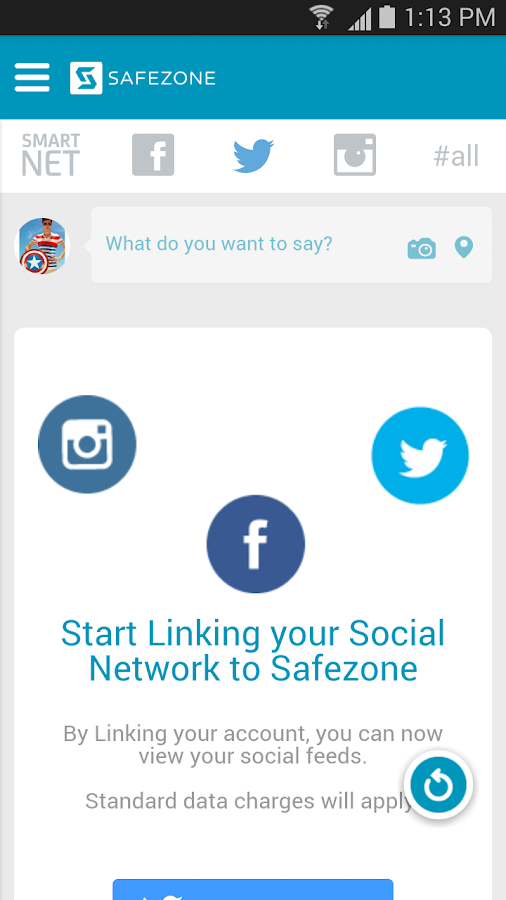 SafeZone - screenshot