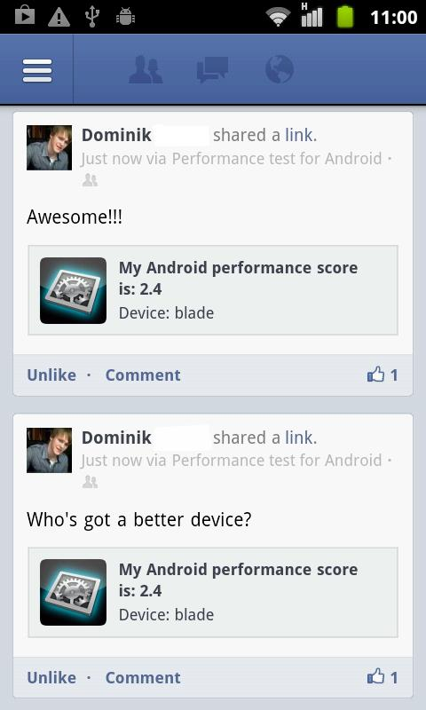 Performance Test Lite - screenshot