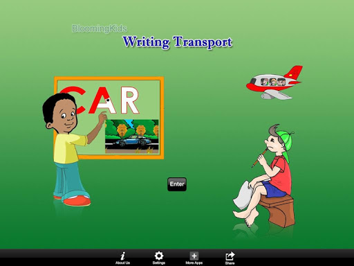 Writing Transport Word