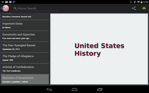 United States History -- screenshot thumbnail