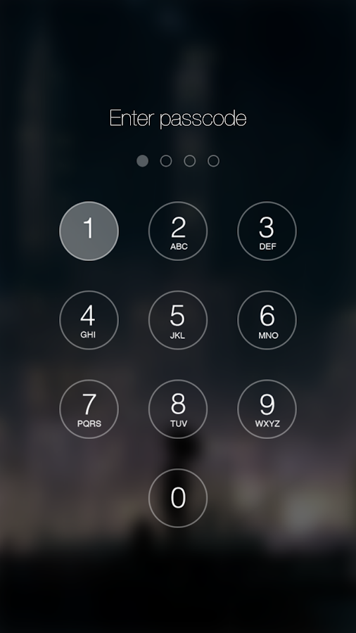 passwords on iphone passcode keypad lock screen android apps on play 12761
