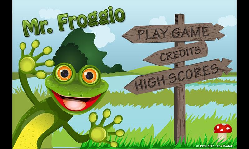 Mr. Froggio - screenshot