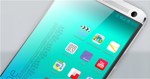 iOS 7 Theme HD Concetto 8 in 1 - screenshot thumbnail