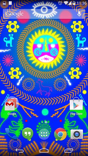 Huichol Live Wallpaper