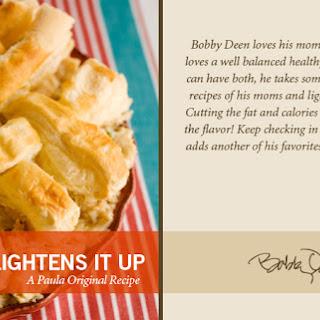 Bobby's Lighter Chicken Pot Pie.