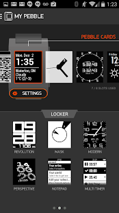 Pebble OLD VERSION Screenshot