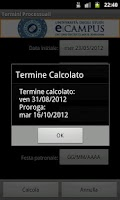 Screenshot of Termini Processuali
