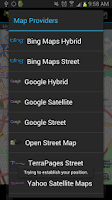 Screenshot of Mokbee Maps