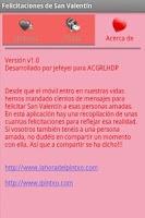 Screenshot of Felicitaciones de San Valentin