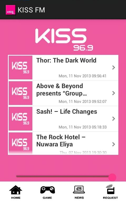 KISS FM Sri Lanka- screenshot