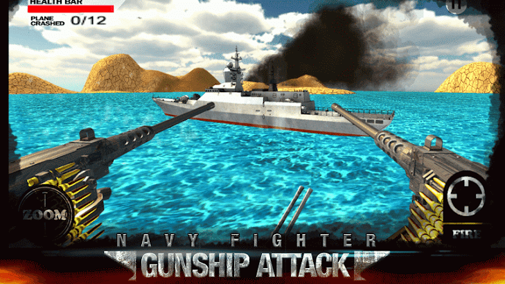 Navy Fighter Gunship Attack- screenshot thumbnail
