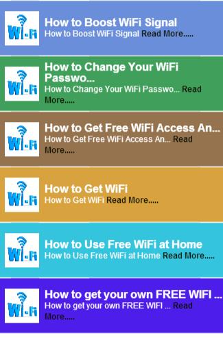 Tips for better wifi