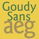 Goudy Sans FlipFont icon