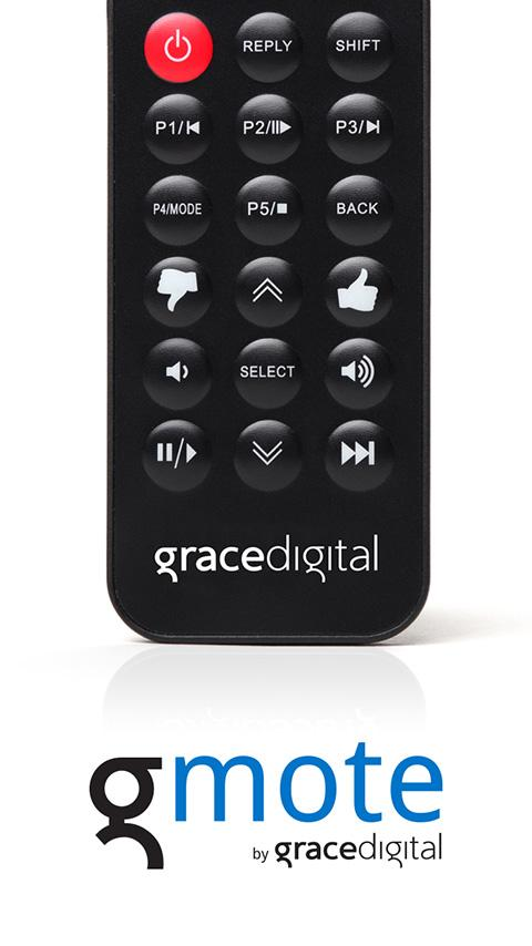 Grace Digital Remote Control - screenshot