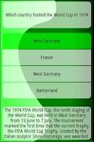 Screenshot of WorldCup2010TriviaLite