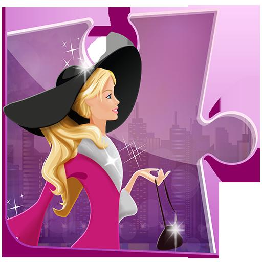 时尚 拼图 游戏的女孩 益智游戏 解謎 LOGO-玩APPs