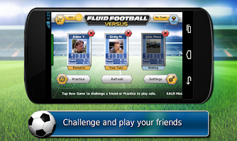 Screenshot of Fluid Soccer Versus
