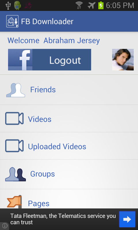 FB Downloader - screenshot