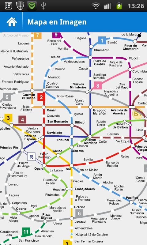 Metro Madrid- screenshot