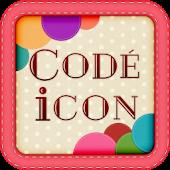 アイコンきせかえ【無料】CODE iCON(コーデアイコン)