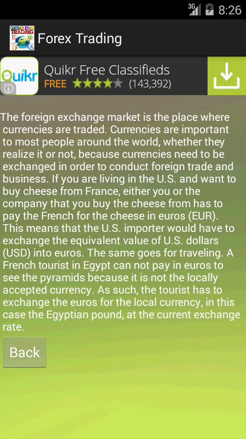 Forex market tips