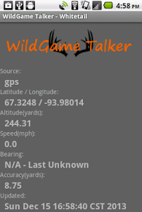 WildGame Talker - Whitetail- screenshot thumbnail