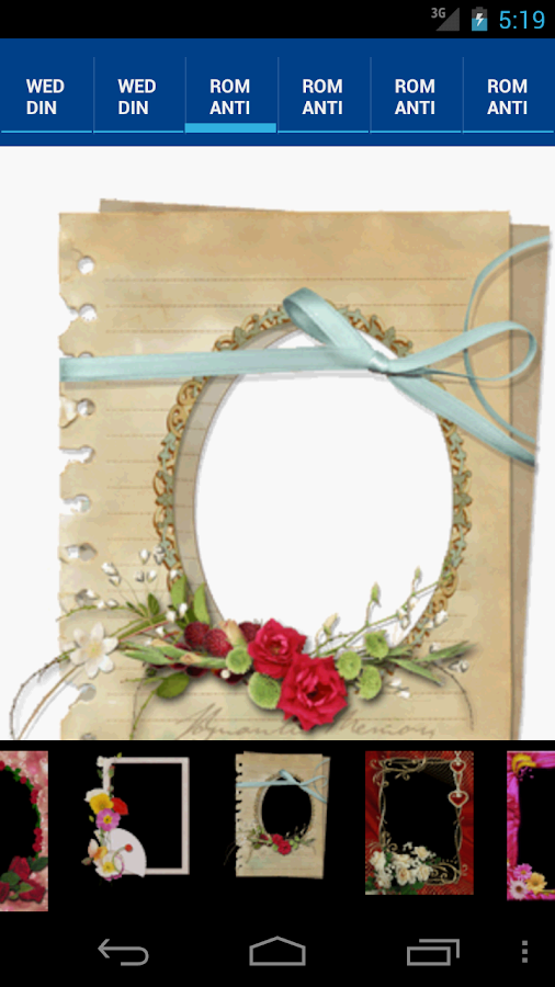 PhotoFrame Love Edition - screenshot