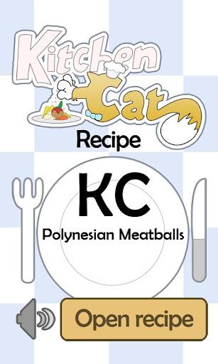 KC Polynesian Meatballs