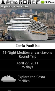 Ship Mate - Costa Cruise Line - screenshot thumbnail
