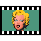 Videocam illusion icon