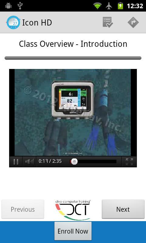 SCUBA Dive Computer Training- screenshot