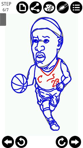 玩教育App 如何繪製NBA球星免費 APP試玩