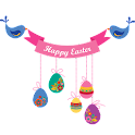 Easter banner Widget logo