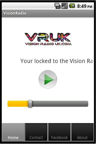 Vision Radio UK - screenshot