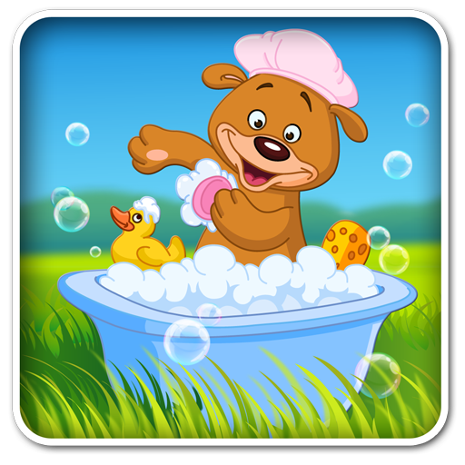 Aaron's kids bathing pet games 解謎 App LOGO-APP試玩