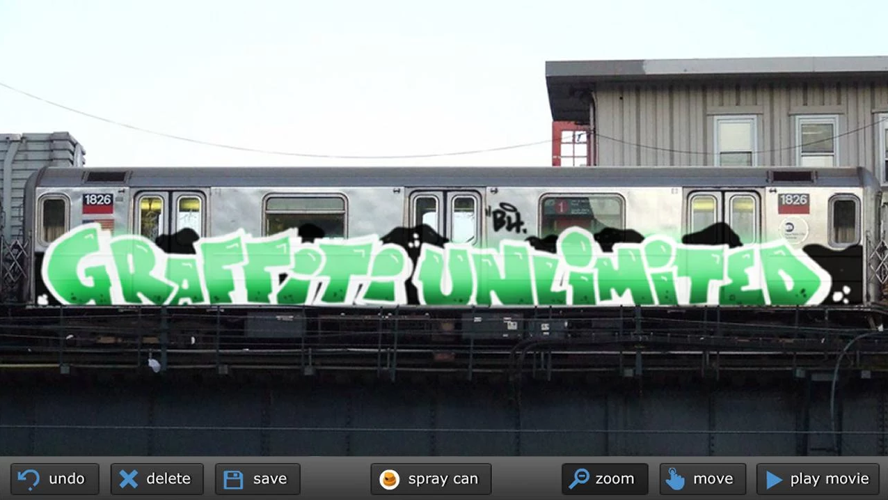 Graffiti creator how to save - Graffiti Unlimited Screenshot