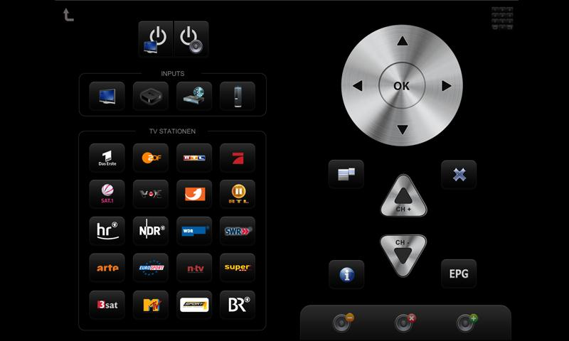 mediola® a.i.o. remote - screenshot