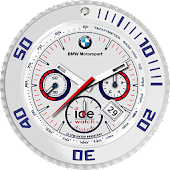 BMW Ice Clock Live Wallpaper