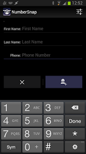 NumberSnap: Contact Photo App- screenshot thumbnail
