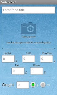 Carbs & Cals - Diabetes & Diet- screenshot thumbnail