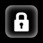 Screen lock status bar icon