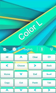 Color L GO Keyboard- screenshot thumbnail