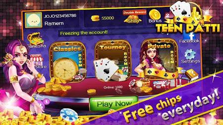 Teen Patti Gold Flush Poker 1.4.0 screenshot 1248102
