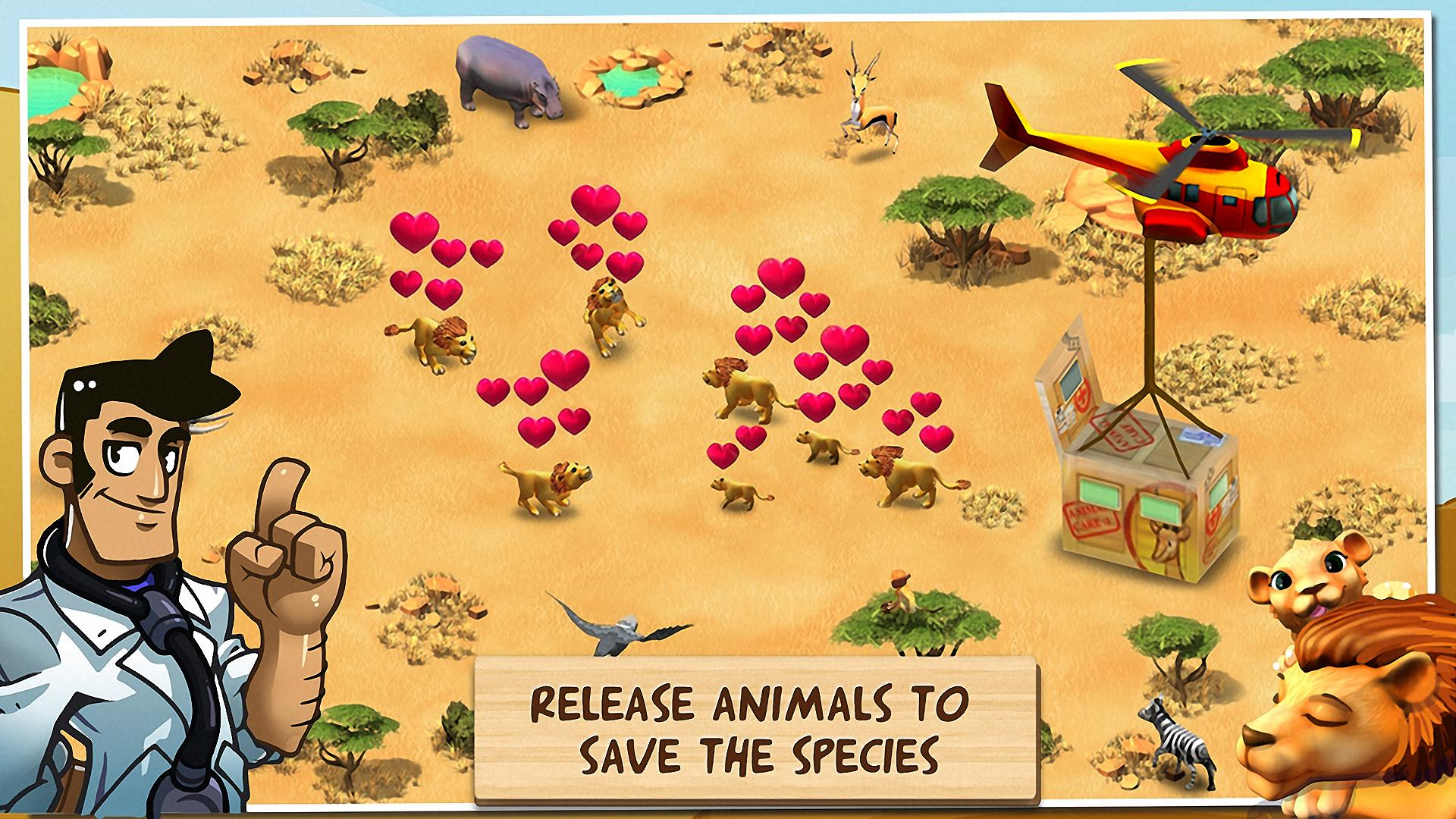 Wonder Zoo - Animal rescue ! screenshot #8