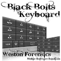 Black Bolts Keyboard T9 Free icon