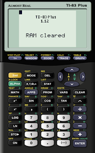AlmostTI - TI Calc Emulator - screenshot thumbnail