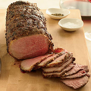 Coriander-Dusted Roast Beef.