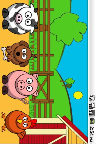 Farm Animals Spelling- screenshot
